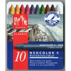 Caran d'Ache NEOCOLOR II Watersoluble Assortiment 30 couleurs
