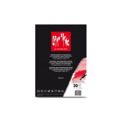 Caran d'Ache Bloc à dessin Standard, format A4, 20 feuilles