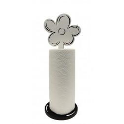 support fleur noir et blanc