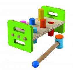 Battina, un jouet en bois à frapper