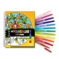 Carnet de coloriage Mandala