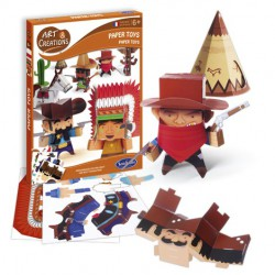 Paper toy's Far west