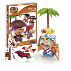Paper toy's pirates