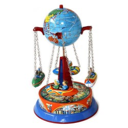 Manège globe avec gondole