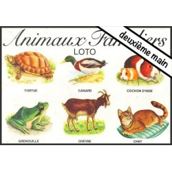 Loto-Animaux familiers
