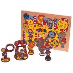 Puzzle 3D, le cirque