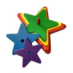 étoile arc-en-ciel