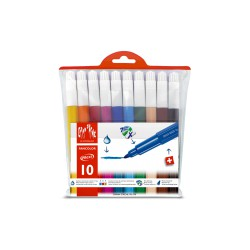 CARAN d'ACHE FANCOLOR Assortiment 10 feutres Maxi