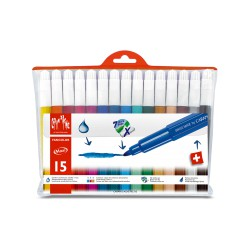 Caran d'ache FANCOLOR Assortiment 15 feutres Maxi