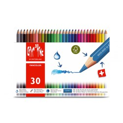 Caran d'ache FANCOLOR Assortiment 30 crayons de couleur
